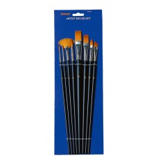 Pincel Artmate Set Pinceles Sintéticos (CF-BS23) - 8 PC