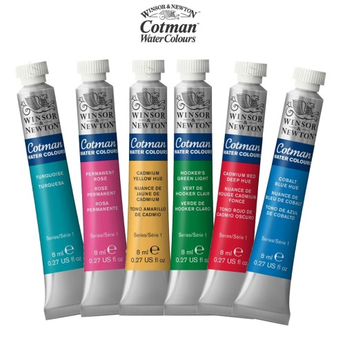 Acuarelas Studio Cotman - 8 ML