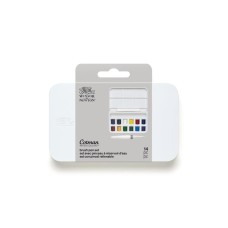 Acuarela Cotman Set con Brush Pen - en Pastillas (W0390453) - 12 PC