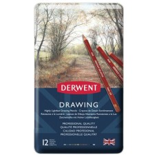 Lápices Derwent Set Lápices Drawing - 12 PC
